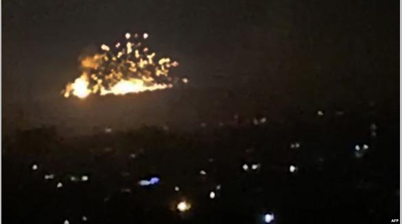 ۱۰ شبه نظامی مورد حمایت ایران در یک حمله هوایی در سوریه کشته شدند