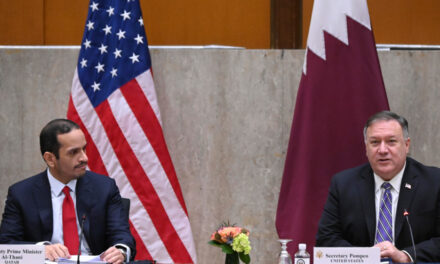 مایک پمپئو: برای تقویت صلح در خاورمیانه و بستن راه دخالت ایران باید اختلاف میان کشورهای خلیج فارس را برطرف کرد