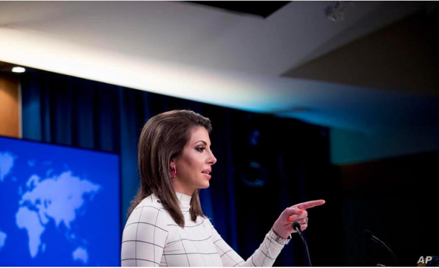 چهار سئوالی که سخنگوی وزارت خارجه آمریکا میگوید باید از «وزیر پروپاگاندای» ایران پرسید
