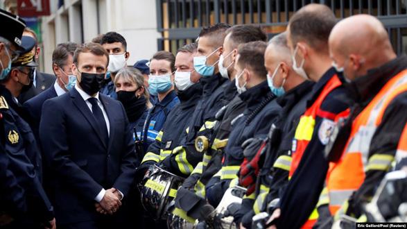 مکرون پس از وقوع حمله در نیس: فرانسه تسلیم نخواهد شد