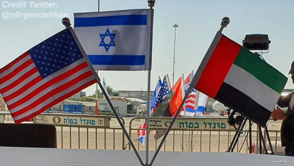 وزیر خزانهداری ایالات متحده در اجلاس سهجانبه آمریکا، اسرائیل، و امارات متحده عربی در تلآویو حضور یافت