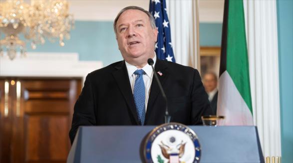مایک پمپئو: کویت با آمریکا در اجرای کارزار فشار حداکثری علیه رژیم ایران همکاری کرده است