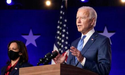پیام «همکاری، اتحاد، و التیام بخشیدن به آمریکا» در نخستین سخنرانی جو بایدن به عنوان رئیس جمهوری منتخب آمریکا