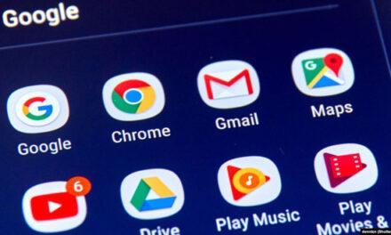 سرویسهای گوگل برای مدتی از دسترس خارج شد