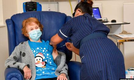 بریتانیا به عنوان اولین کشور غربی تزریق واکسن کرونا را آغاز کرد